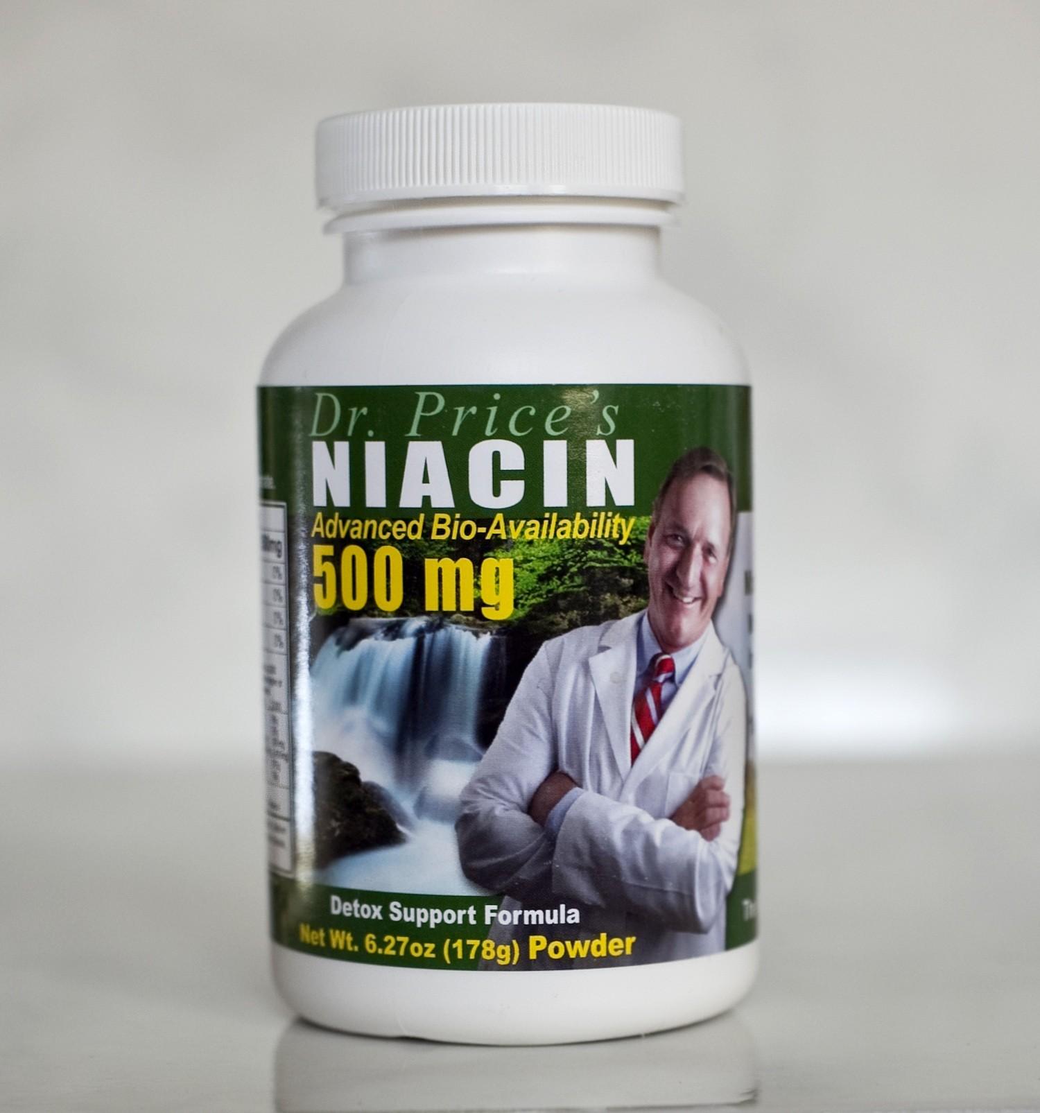 Niacin Vites - 500 mg - 100 servings